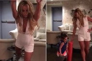 "Britney Spears Dances To ""Vogue,"" Wishes Madonna Happy Belated Birthday: Watch"