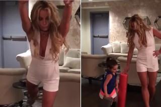 "Britney Spears Dances To ""Vogue,"" Wishes Madonna Happy Belated Birthday: Watch"