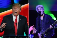 Green Day's Billie Joe Armstrong Compares Donald Trump To Hitler