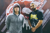 "Drake Performs ""Forever"" With Eminem During Detroit Concert"