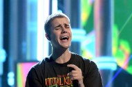 Justin Bieber Tosses Mic & Storms Off Stage After Fans Won't Stop Screaming
