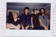 "Lady Gaga Posts Photo With Bloodpop, Mark Ronson & Kevin Parker, Teases ""Perfect Illusion"""