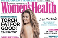 Lea Michele Goes Naked For 'Women's Health UK': 3 Photos