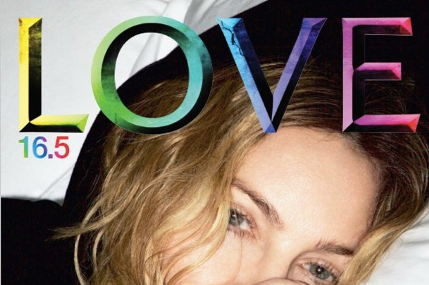 madonna love magazine