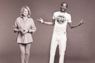 Martha Stewart And Snoop Dogg Have A Food-Themed Show Coming To VH1, Which Seems About Right