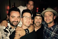 *NSYNC Reunite For JC Chasez's 40th Birthday: See Justin Timberlake's Photo