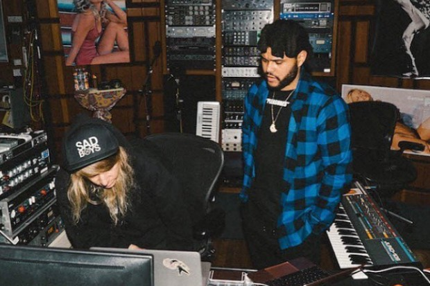 the weeknd cashmere cat studio