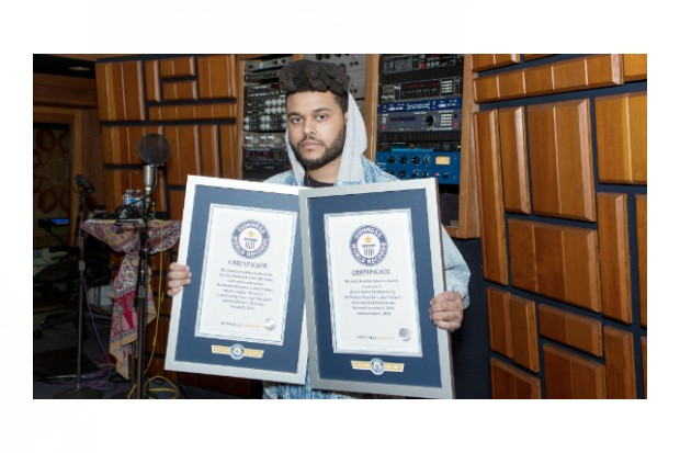 the-weeknd-guiness-book-world-records