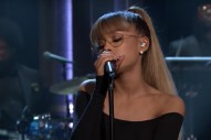"Ariana Grande Performs ""Jason's Song (Gave It Away)"" On 'Fallon': Watch"