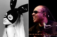 "Ariana Grande & Stevie Wonder's Pair-Up ""Faith,"" From The 'Sing' Soundtrack, Out Soon"