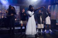 "Blood Orange Performs ""Juicy 1-4"" And ""Love Ya"" On 'The Daily Show': Watch"