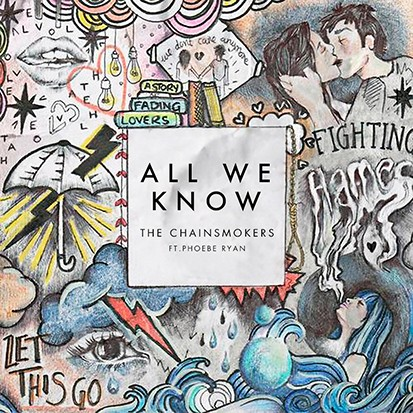 「chainsmokers all we know」的圖片搜尋結果