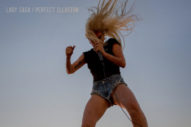 "Lady Gaga Rocks Out On The Cover Of ""Perfect Illusion"""