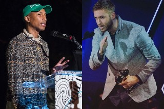 "Pharrell Convinced Calvin Harris To Try Singing Again In ""My Way"""