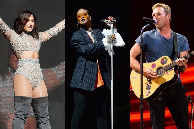 Rihanna, Demi Lovato & More Performed At The 2016 Global Citizen Festival