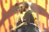 Rihanna And Drake Lock Lips During Miami Show