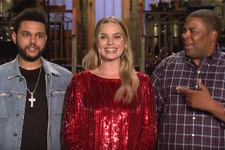 Watch The Weeknd's 'SNL' Promo With Margot Robbie