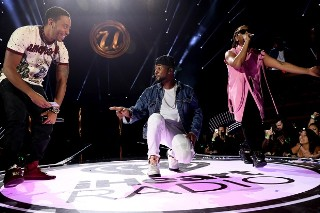 "Usher Reunites With Ludacris & Lil Jon For ""Yeah!"" At iHeartRadio Music Festival: Watch"