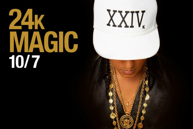 Bruno Mars Announces New Single '24K Magic' Due Out October 7th