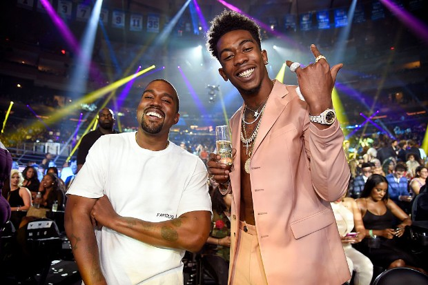 kanye desiigner 2016 MTV Video Music Awards