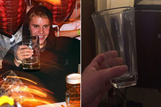 You Can Own Justin Bieber's Used Milk Glass (Bidding Is Currently At $81,000)