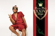 "Bruno Mars Returns With ""24K Magic"": Watch The Video And See His Album Cover"
