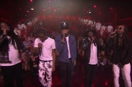 """Watch Chance The Rapper's Star-Studded """"Blessings (Reprise)"""" Performance On 'Fallon'"""