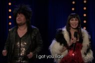 "Cher And James Corden Sing ""I Got You Bae"": Watch"