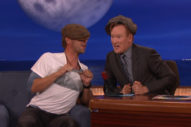"Watch Chris Martin & Conan O'Brien Sing ""Yellow"" With Ridiculous Cockney Accents"