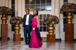 Frank Ocean Wore Checkered Vans To A White House State Dinner