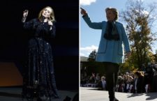 Watch Adele Endorse Hillary Clinton With HRC In Crowd