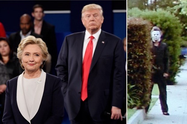 hillary-clinton-donald-trump-michael-myers-debate-election-2016-fat-fuck