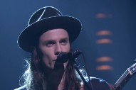 "James Bay Gives A Dreamy Performance Of ""Hold Back The River""  On 'Fallon': Watch"