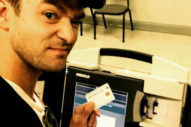 Justin Timberlake Probably Shouldn't Have Taken That Voting Booth Selfie