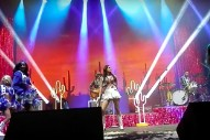 Kacey Musgraves Performs With The Dallas Cowboy Cheerleaders At The Texas State Fair