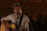 "Watch Niall Horan's Moving Performance Of ""This Town"" On The 'Late Late Show'"