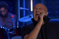 "Watch Phil Collins' Stellar Performance Of ""In The Air Tonight"" On 'Fallon'"