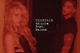"Shakira Joins Forces With Latin Superstar Maluma On ""Chantaje"""