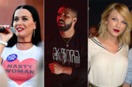 Taylor Swift & Katy Perry Were At Drake's Birthday Party