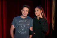Ariana Grande Visits 'American Horror Story' Haunted House On 'Ellen'