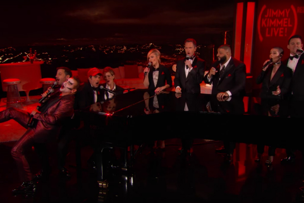 bono-the-killer-shalsey-red-jimmy-kimmel-special