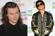 Is Harry Styles Working With Bruno Mars & Max Martin?