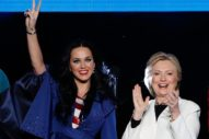 "Katy Perry Walks Out To Janet Jackson's ""Nasty"" At Hillary Clinton Concert: Watch"