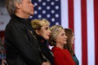 Watch Lady Gaga Speak & Perform With Jon Bon Jovi At Hillary Clinton's Final Rally