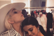 "Lady Gaga To Selena Gomez: ""So Dope I Got To Hang With The Biggest Rockstar Of The Night"""