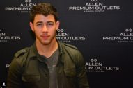 Here's Adorable Nick Jonas Holding His Adorable Baby Niece