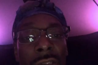 Watch Snoop Dogg's Hilarious Reaction To Kanye West's 10-Minute Rant In Sacramento