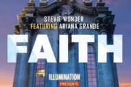 "Stevie Wonder And Ariana Grande's ""Faith"" From The 'Sing' Soundtrack: Listen"