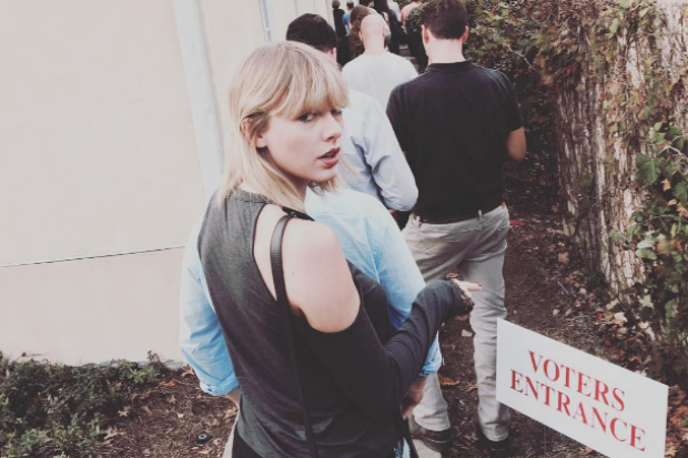 taylor swift vote