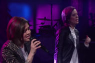"Watch Tegan And Sara's Joyous Performance Of ""Stop Desire"" On 'The Late Show'"